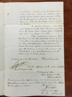 King Kamehameha III to Wyllie-Hawaiian-Feb_21,_1854-2
