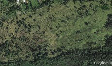 Kona Field System Walls - Google Earth