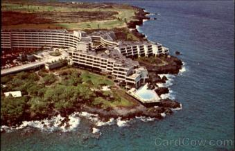 Aerial View Of The Kona Surf Hotel