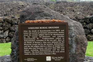 Kekuaokalani and the Kapu
