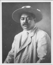 Kuhio Wearing his campaign hat and shirt-PP-97-2-017