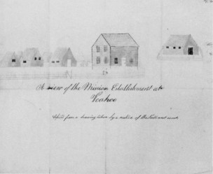 L2R Ellis, Richards & Stewart-Stockton; Frame House-Kawaiahao