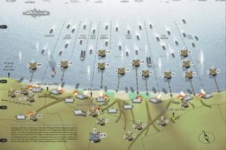 Landing-Corridors-D-Day