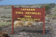 Lapakahi State Park-entrance sign