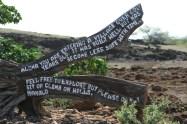 Lapakahi State Park-sign