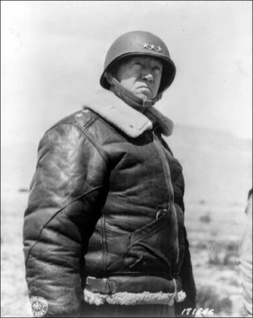 Lieutenant General Patton in 1935, prior to World War II