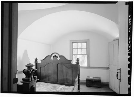 MIDDLE BEDROOM, SECOND FLOOR - Mission Frame House-(LOC)-1966