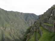 Machu Picchu terracing
