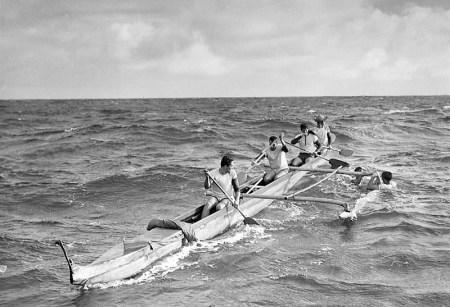 Malia-Waikiki Surf Club-first Molokai-Oahu-1952-IanLind
