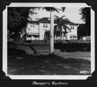 Managers Residence (Faye)