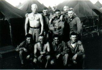 Marines of A-1-24 at Camp Maui, 1944