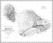 Maui-Dodge-DAGS-(1268)-1885-noting Sugar Planatations and Pulehunui