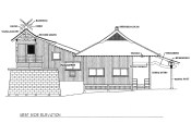 Maui-Jinsha-Mission-building-West side elevation-Mason