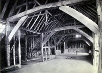 Mayflower barn at Jordan in 1920