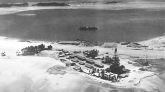 Meng Island, Palmyra Naval Air Station, 1942