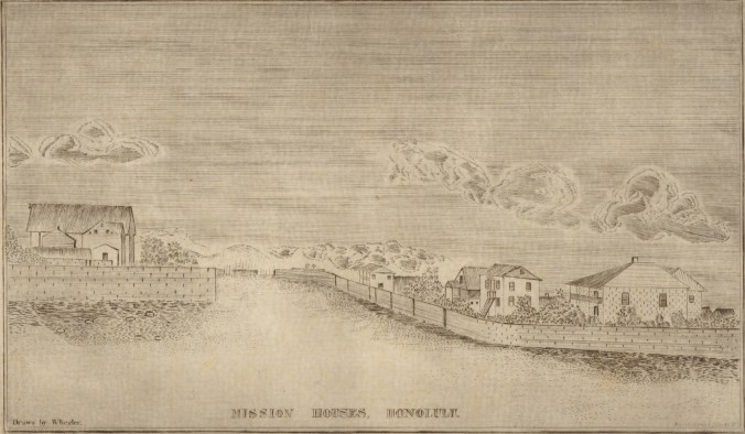 Mission_Houses,_Honolulu,_ca._1837._Drawn_by_Wheeler_and_engraved_by-Kalama