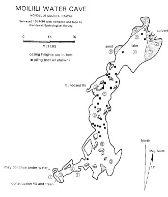 Moiliili_Water_Cave-(halliday)-map