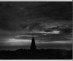 Monument to Catholic church engulfed by lava, Hoopuloa, So. Kona, Hawaii Island-PP-29-6-031