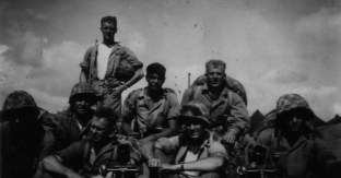 Mortarmen of A-1-24, April 1944