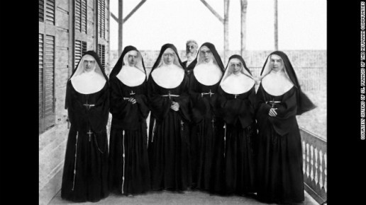 Mother Marianne, far, right, led a group of six volunteers from the Sisters of St. Francis to Hawaii