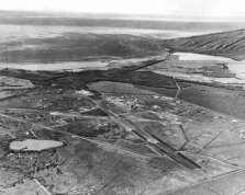 NAS Pu`unēnē looking westward, Maalaea Bay-(Maui Historical Society-NOAA)