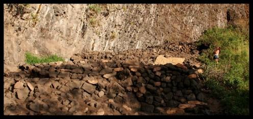 Nu'alolo Kai cliff house platforms-(Wichman)