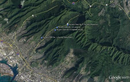 Nuuanu Reservoirs-GoogleEarth