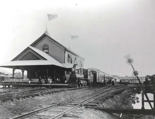 OR&L Railroad Station 1890