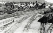 OR&L Railroad Yard, November 1941