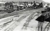 OR&L Railroad Yard, November 1941
