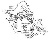 Oahu-Forts-Map