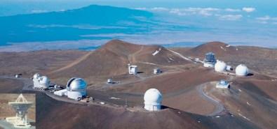 Observatories-Mauna Kea Summit