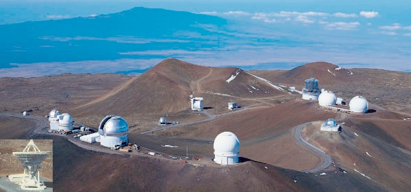 Observatories-Mauna Kea Summit