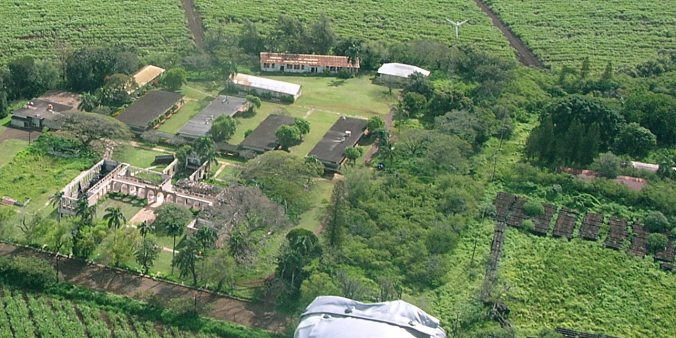 Old Maui High School-aerial-OMHS
