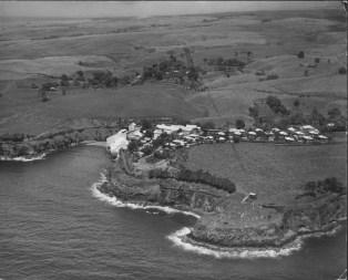 Onomea sugar plantation, Hamakua Coast, Hawaii Island-PP-28-11-008-1935