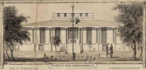 Palace_of_King_Kamehameha_III,_from_the_harbor_(c._1853)