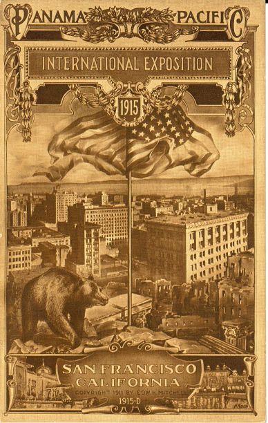 Panama-Pacific Exposition - 1915-LOC