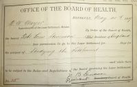 Permit_issued_to_Robert_Louis_Stevenson_to_visit_the_leper_settlement_at_Molokai