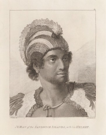 Portrait_of_Kaneena,_a_chief_of_the_Sandwich_Islands_in_the_North_Pacific-between 1778 and 1779