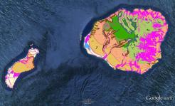 Pre-contact Footprint-Eco-systems-Kauai-Niihau-GoogleEarth-OHA-TNC