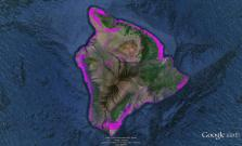 Pre-contact Footprint-Hawaii Island-GoogleEarth-OHA-TNC