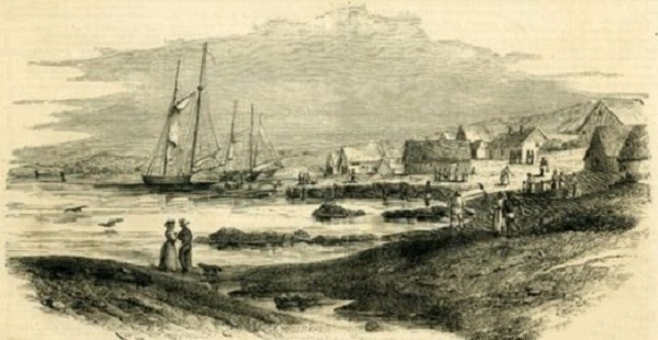 Prostitution-Western_ships_docked_in_Honolulu's_deep_harbor-early-1800s
