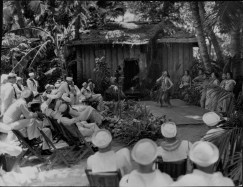 Pualani Mossman dancing the hula at Lalani Village, Waikiki-PP-33-1-017-1935