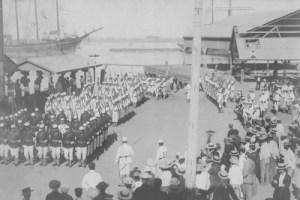 Landing American Troops
