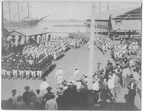 Purported Landing of US Marines & Sailors from the USS Boston-PP-36-3-003-Jan 17, 1893