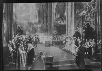 Queen Kapiolani at Queen Victoria's Golden Jubilee, Westminster Abbey-PP-97-15-011-June_21,_1887