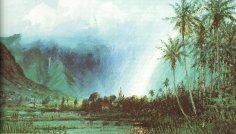 'Rainbow_above_Taro_Patch_in_Manoa_Valley'_by_D._Howard_Hitchcock,_1910
