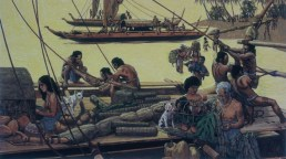 Readying_Canoe_for_a_Voyage-(HerbKane)