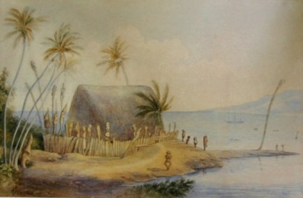 Robert_C._Barnfield_-_watercolor_painting_of_Hale_o_Keawe-1886