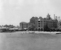Royal Hawaiian Hotel under construction in 1926